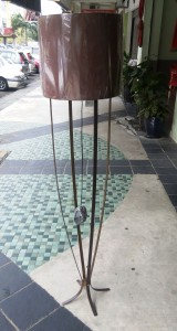 LTG0024  FLOOR LAMP IRON,OTHER MATERIAN