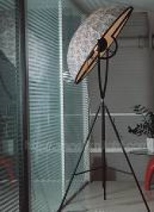 LTG0027  FLOOR LAMP FABRIC SHADE,METAL