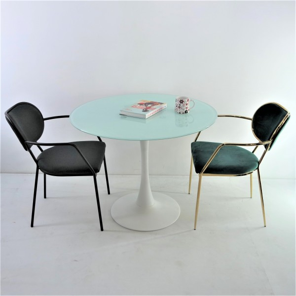 GOLD DINING CHAIR - FRM02184