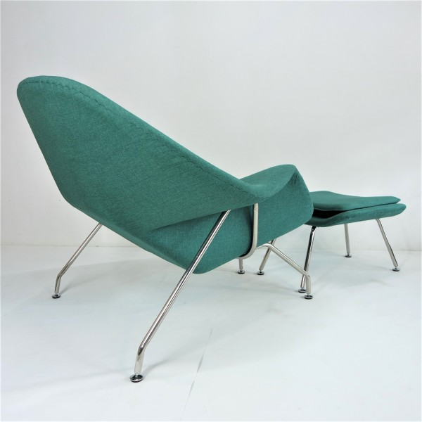 WOMB CHAIR WITH OTTOMAN - FRM71494