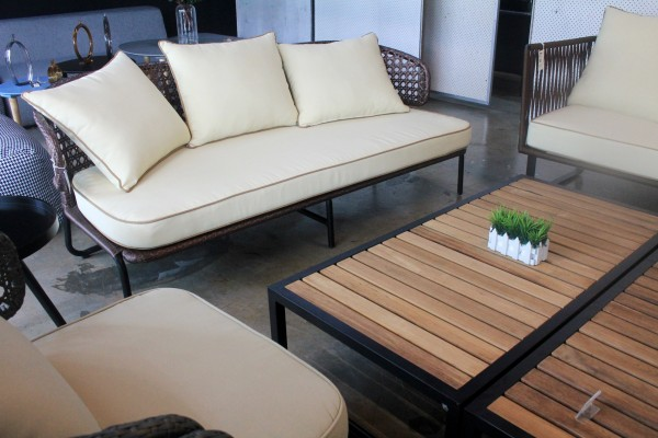 3 SEATER OUTDOOR SOFA - FRM80275