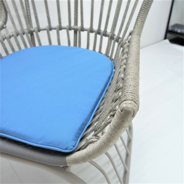 OUTDOOR HIGH BACK LOUNGE CHAIR - FRM80384