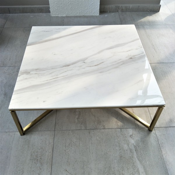 SQUARE MARBLE COFFEE TABLE - FRM20802