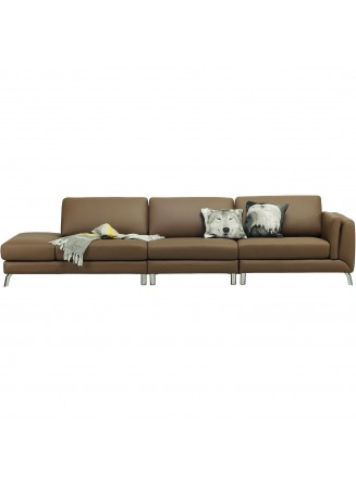 ASPEN 3 SEATER WITH SIDE OTTOMAN - FRM6070B1
