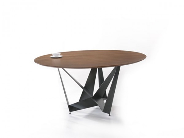 ROUND WOOD DINING TABLE - FRM5133