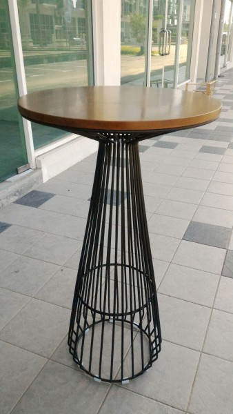 WALNUT BAR TABLE - FRM51252