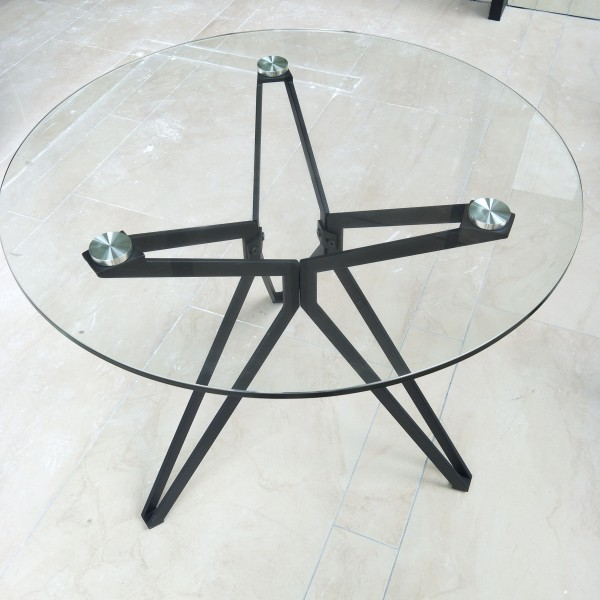 ROUND GLASS TABLE - FRM5113A6