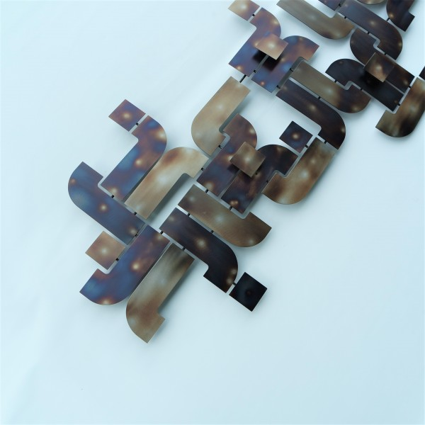 METAL PLATE WALL DECO - DCW00433