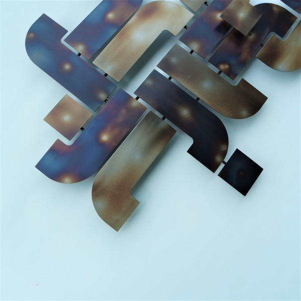 METAL PLATE WALL DECO - DCW00434