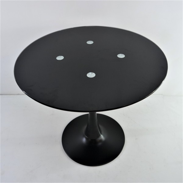 ROUND GLASS DINING TABLE - FRM51472