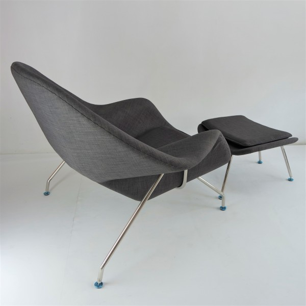WOMB CHAIR WITH OTTOMAN - FRM71493
