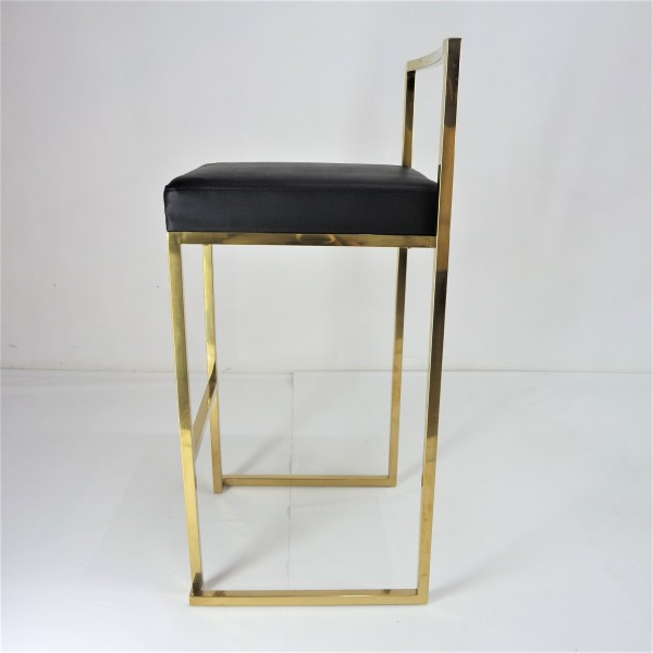 GOLD FRAME BAR CHAIR -FRM10966