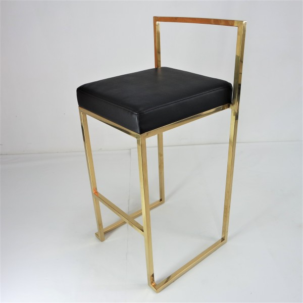 GOLD FRAME BAR CHAIR -FRM10964