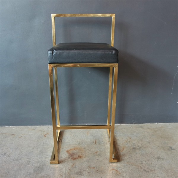 GOLD FRAME BAR CHAIR -FRM10963