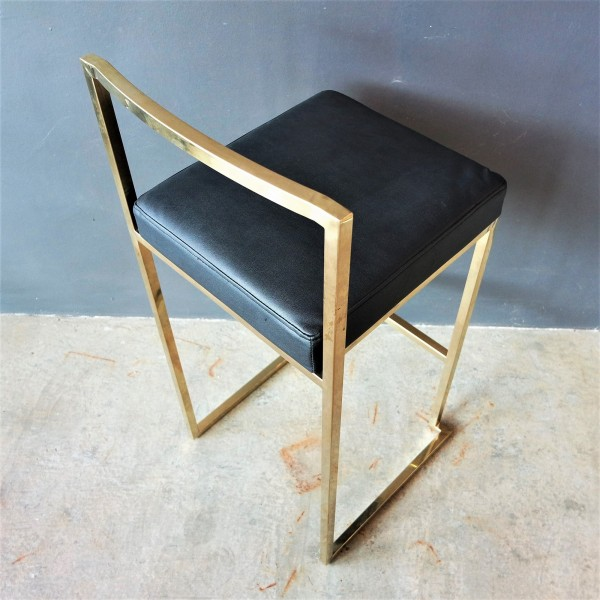 GOLD FRAME BAR CHAIR -FRM10965