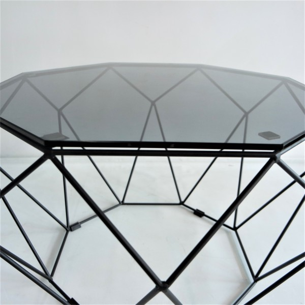 BLACK IRON COFFEE TABLE - FRM3063A-B3