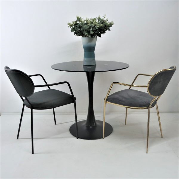 GOLD DINING CHAIR - FRM02185