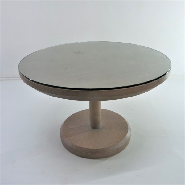 ROUND SOLID WOOD COFFEE TABLE - FRM21021