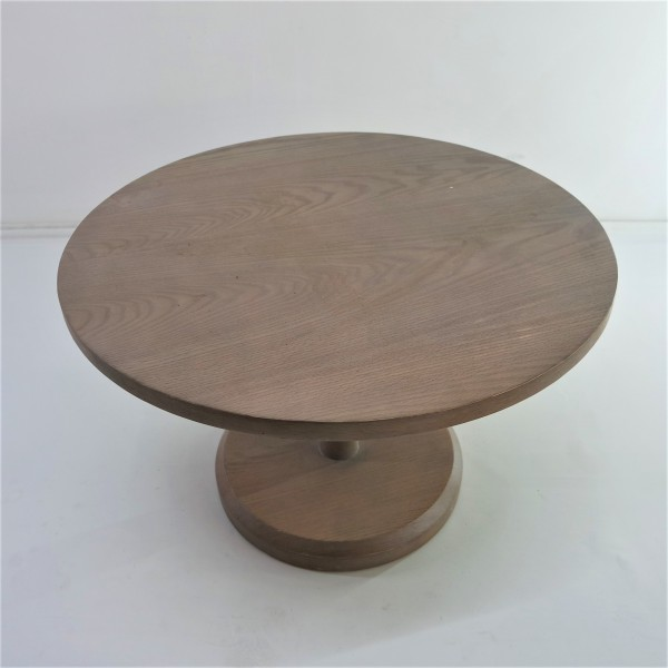 ROUND SOLID WOOD COFFEE TABLE - FRM21022