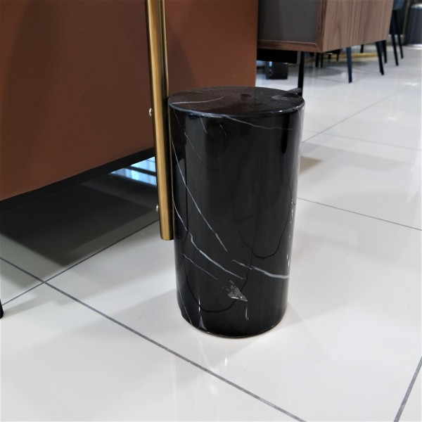 STAINLESS STEEL SIDE TABLE - FRM21064