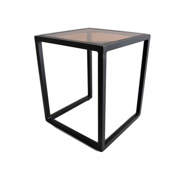 SQUARE ALUMINUM SIDE TABLE - FRM5138A1