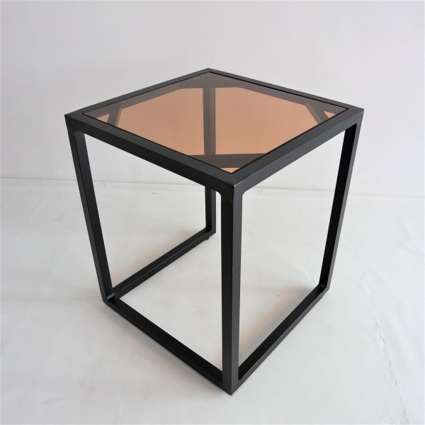 SQUARE ALUMINUM SIDE TABLE - FRM5138A3