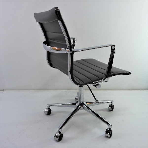 MICRO FIBER LEATHER OFFICE CHAIR  FRM9506-LG1