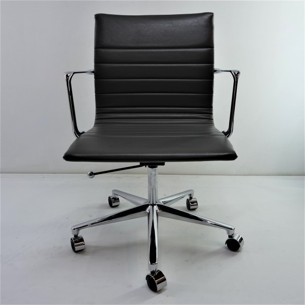 MICRO FIBER LEATHER OFFICE CHAIR  FRM9506-LG2