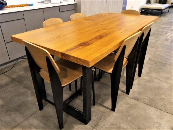 SOLID PINE WOOD 8+1 DINING SET : RM 4388 ONLY2