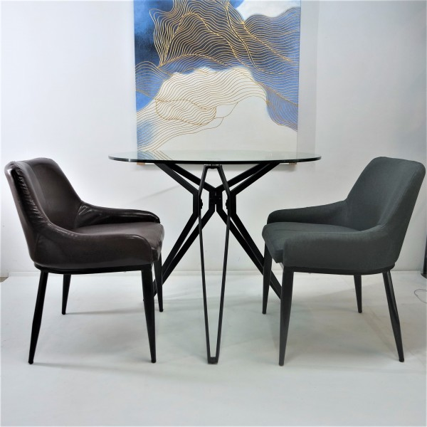 TEMPERED GLASS DINING SET : RM 999 ONLY1