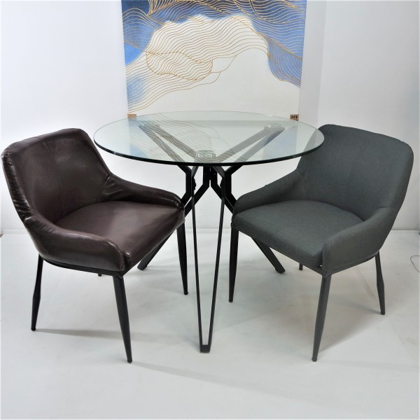 TEMPERED GLASS DINING SET : RM 999 ONLY2