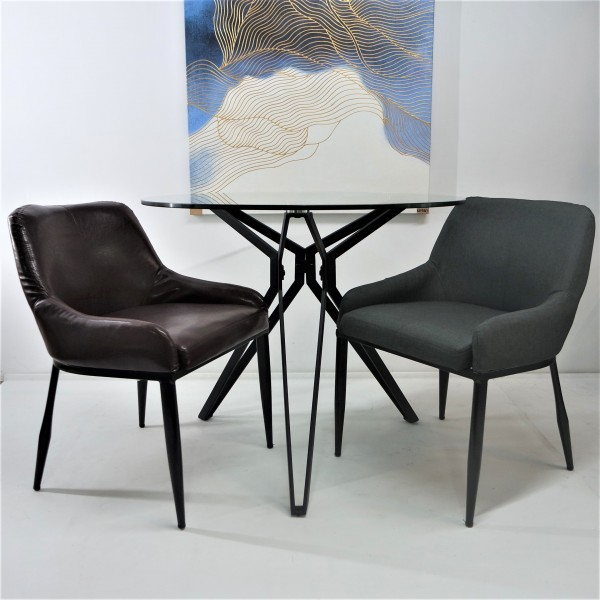 TEMPERED GLASS DINING SET : RM 999 ONLY6