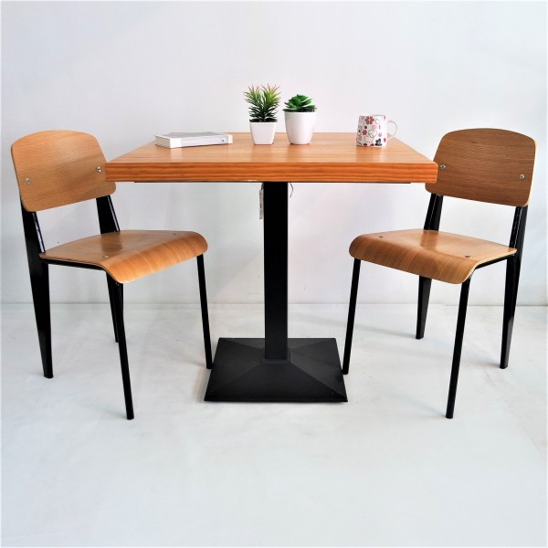 SOLID PINE WOOD DINING SET : RM 998 ONLY3