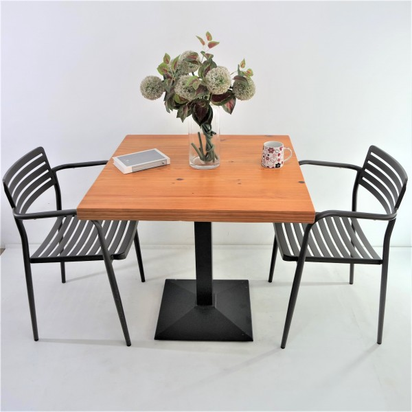 SOLID PINE WOOD OUTDOOR TABLE SET : RM899 ONLY3