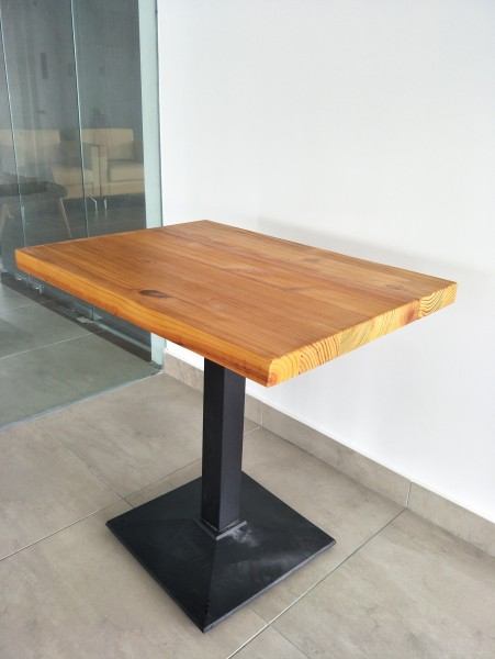 SOLID PINE WOOD OUTDOOR TABLE SET : RM899 ONLY4