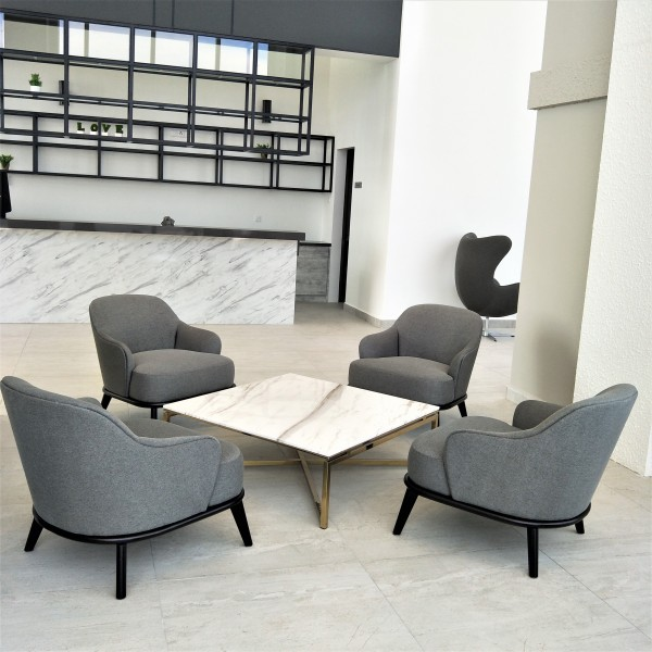 SQUARE MARBLE COFFEE TABLE - FRM20805
