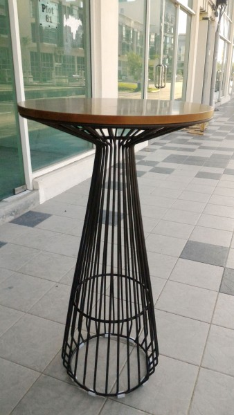 WALNUT BAR TABLE - FRM51253