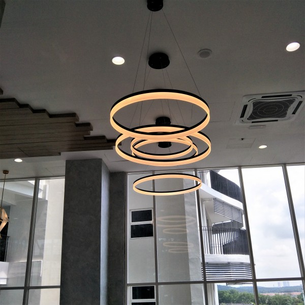 LED ROUND PENDANT LAMP (SMALL) - LTC0062B6