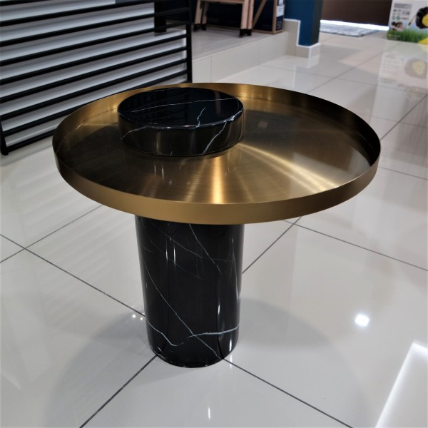 STAINLESS STEEL COFFEE TABLE - FRM21112