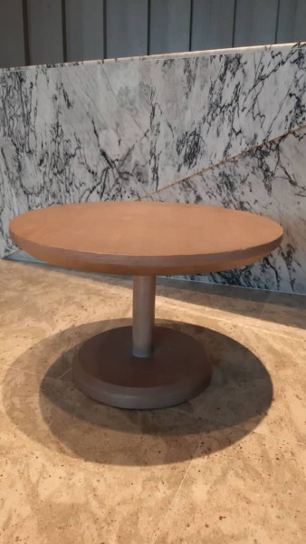 ROUND SOLID WOOD COFFEE TABLE - FRM21023