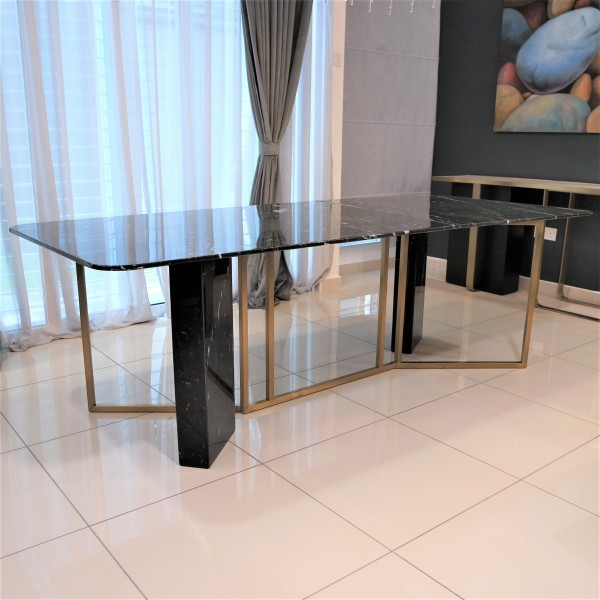 ROOD MARBLE DINING TABLE - FRM51562