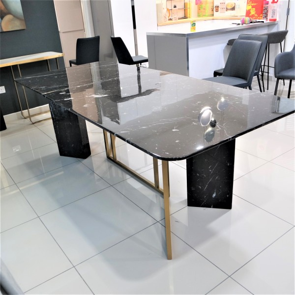 ROOD MARBLE DINING TABLE - FRM51563