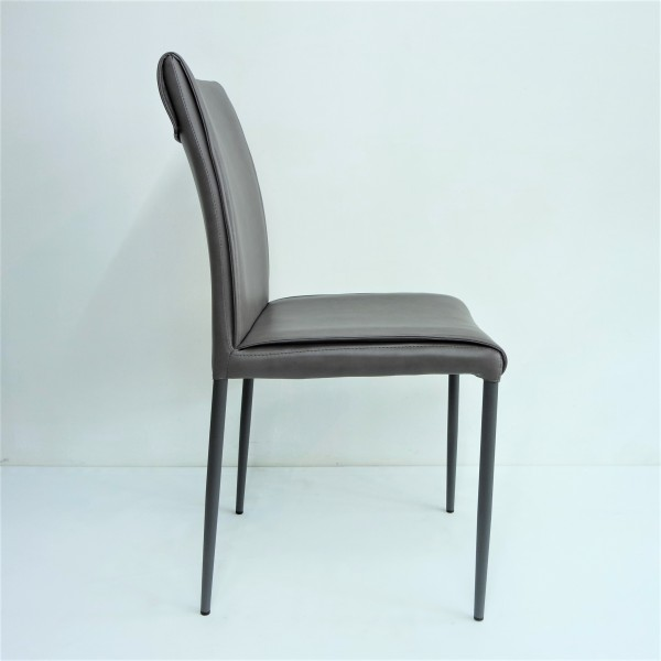 PU DINING CHAIR - FRM0213-PBR2