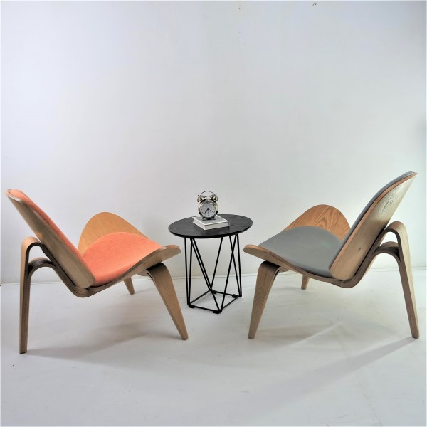 SHELL CHAIR SET - RM1888 0NLY1