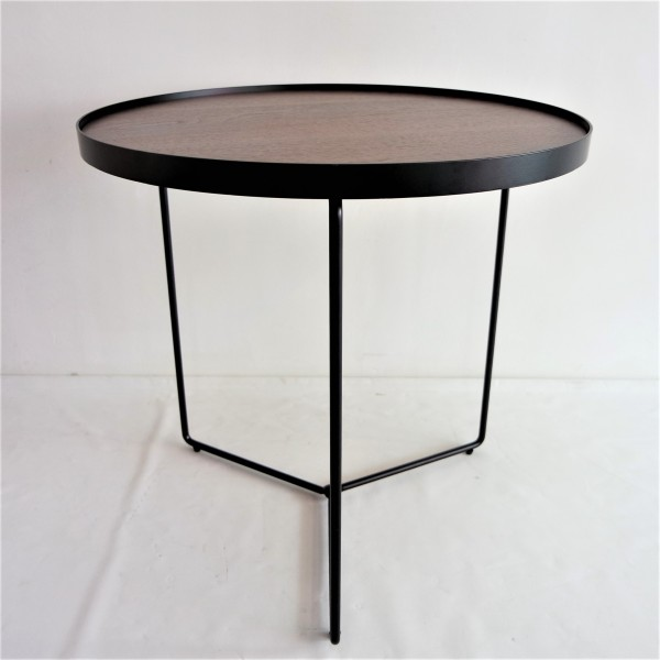 WALNUT SIDE TABLE - FRM2098-WN3