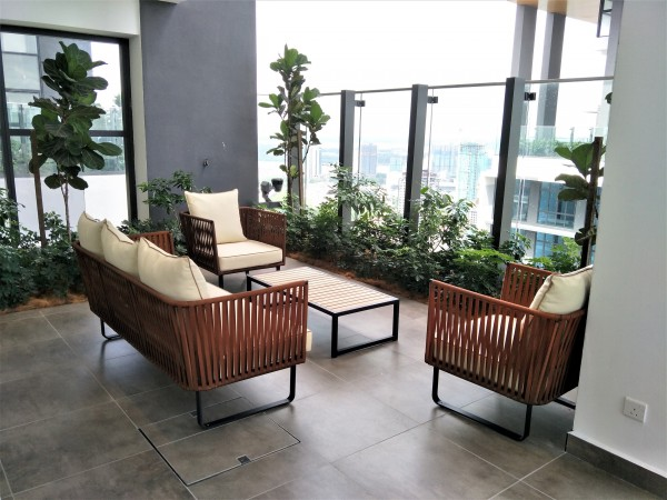 OUTDOOR COFFEE TABLE - FRM80265