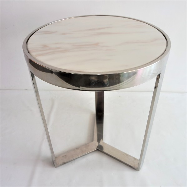 MARBLE TOP SIDE TABLE - FRM2096-S4