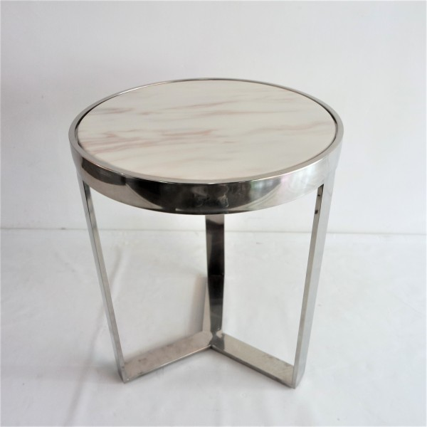 MARBLE TOP SIDE TABLE - FRM2096-S6